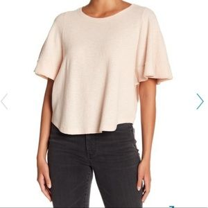 Madewell top NWT xxs pink